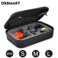 Sport Kamera Tragbare Lagerung Fall Sammlung Tasche für GoPro Hero 8 7 6 5 4 Sitzung SJCAM Xiaomi Yi 2 4K Mijia Gehen Pro Zubehör