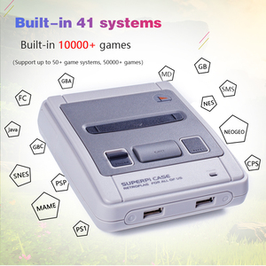 Image 4 - Retroflag TV Video oyunu konsolları SUPERPi CASE J ile Recalbox sistemi ahududu Pi 3B Retro oyun oyuncu dahili 10000 + oyunları