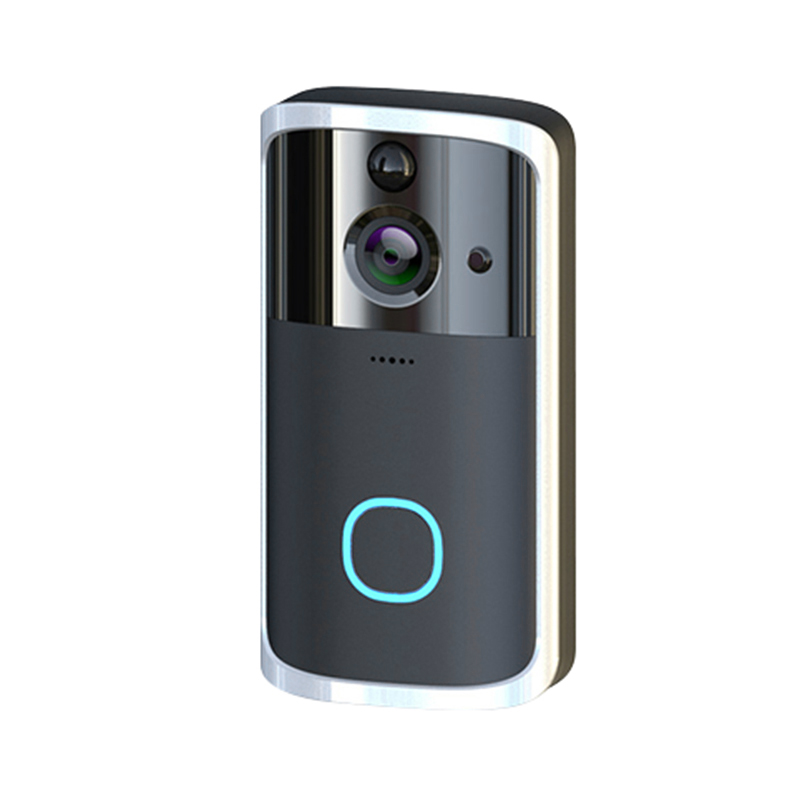 ABKT-Smart Home Video Doorbell Free Opening Electronic Cat Eye Security Wireless Wifi Monitoring Hd Camera Video