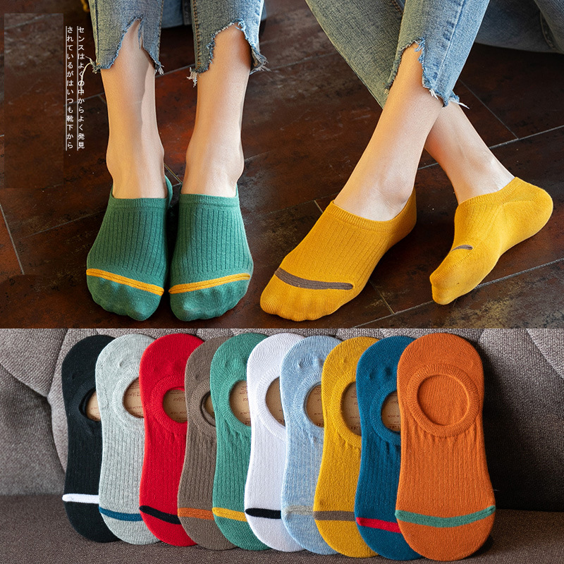 1 Pair Women Socks Spring Summer Lady Socks Cotton Color Cute Embroidery Female Fashion Socks Girls Korean Style Christmas Socks