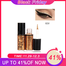 Professional Makeup Silver Rose Gold Color Liquid Glitter Eyeliner New Shiny Eye Liners for Women Pigment Korean Cosmetics