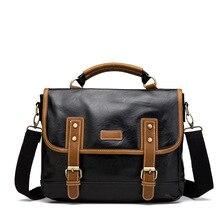 Top Designer PU Men Briefcase Bag Fashion Male Messenger Bags Office Handbag Totes Large Capacity Shoulder