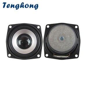 Tenghong 2 pçs 2.5 Polegada alto-falante de áudio bluetooth 4ohm 5w alto-falantes de gama completa computador à prova ddiy água para áudio ao ar livre diy