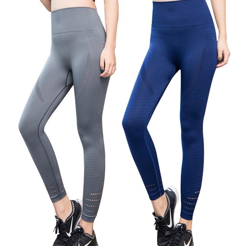 2019 femmes taille haute Yoga Leggings pour femmes Yoga pantalon haute élasticité Hip Up Fitness Gym collants de course Sport Leggings