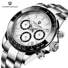PAGANI-relojes de diseño para hombre, de acero inoxidable, de cuarzo, de pulsera, cronógrafo, 2020