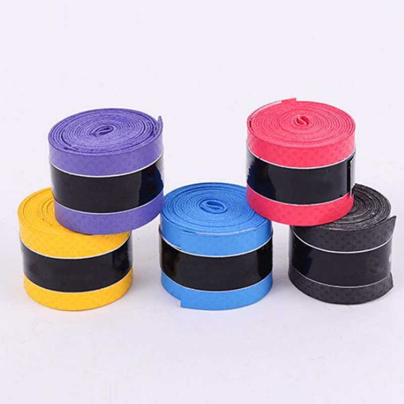 1 Roll Anti-slip Sport Fishing Rods Over Grip Sweat Band Griffband Tennis Overgrips Tape Badminton Racket Grips Sweatband