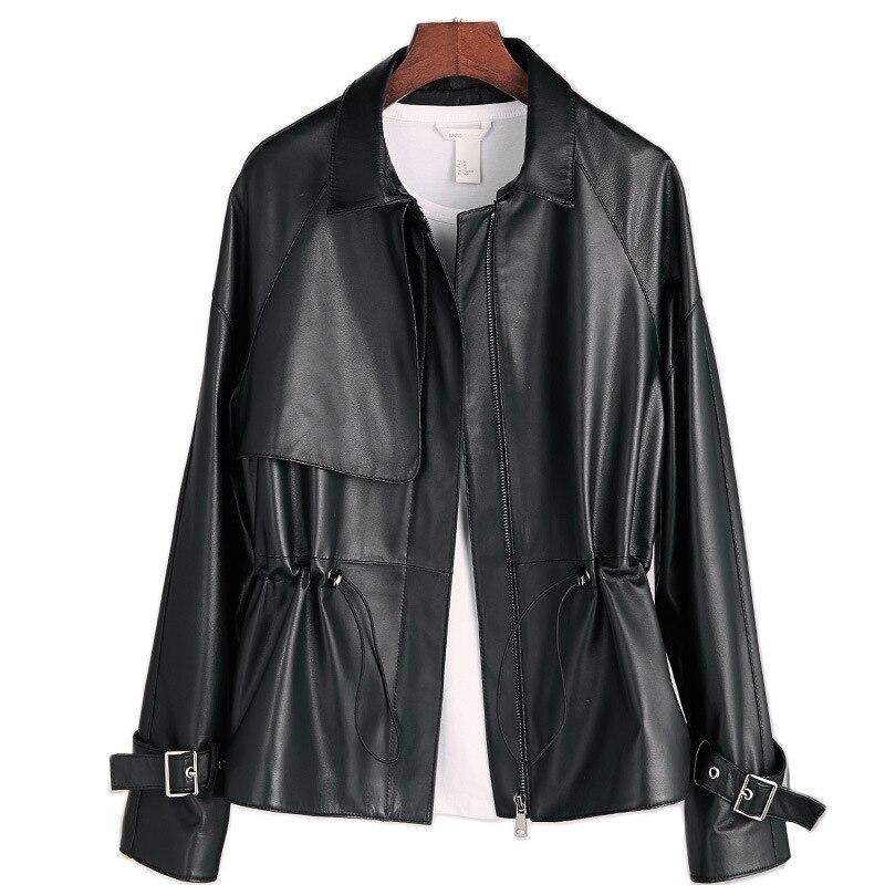 Spring Jacket Women Clothes 2020 100% Real Genuine Leather Jacket Korean Elegant Female Sheepskin Coat Women's Fur Coat ZT2179