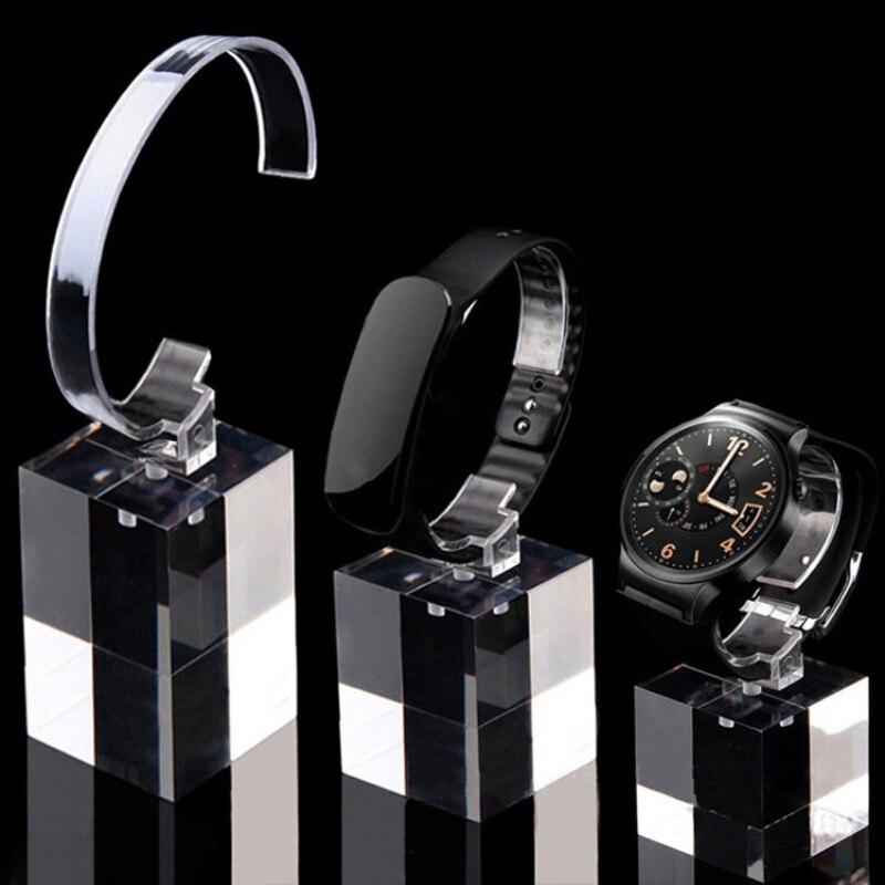 rack s m l preto relógio de pulso suporte de rotação