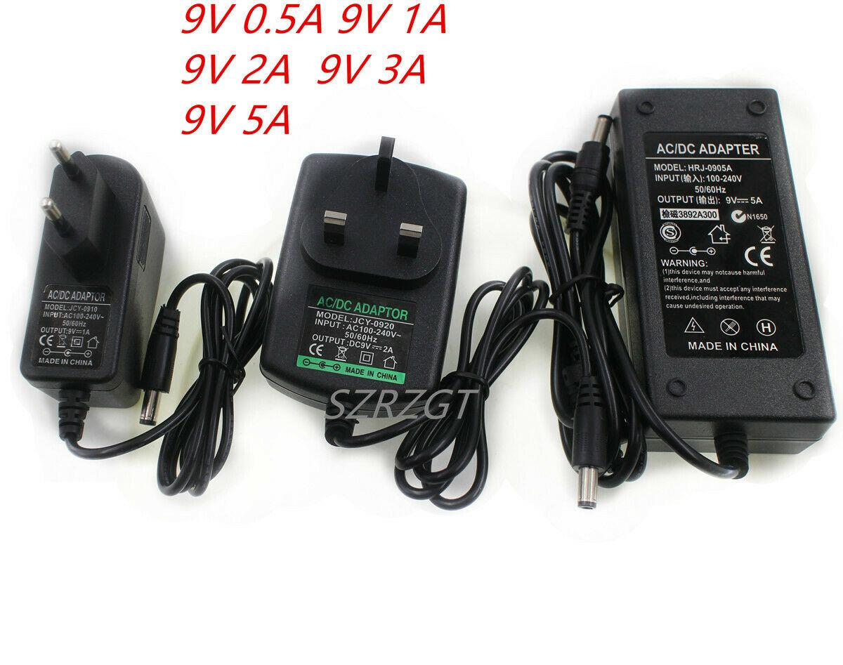 Adaptador do carregador da fonte de alimentação dc9v 1a 2a 3a 5a adaptador 220 v a 12 v conduziu a lâmpada de tira