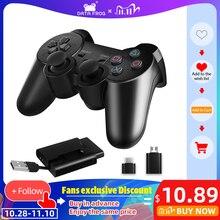 DATA FROG mando inalámbrico 2,4G para PS3/PS2, mando para PC, mando para Android, Smart Phone/TV Box