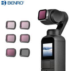 Benro ND4/ND8/ND16/ND32/ND64 CPL filtro de densidad neutra para cámara de bolsillo DJI OSMO