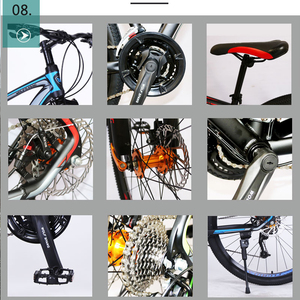 Image 3 - Wolfs fang Bicycle Mountain Bike Aluminum alloy 27 Speed 29 Inches Road bikes  bmx mtb snow Fat bike beach bicycles New Man