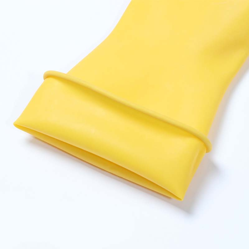 Beef Latex Gloves Household Thickened Acid And Alkali Latex Gloves