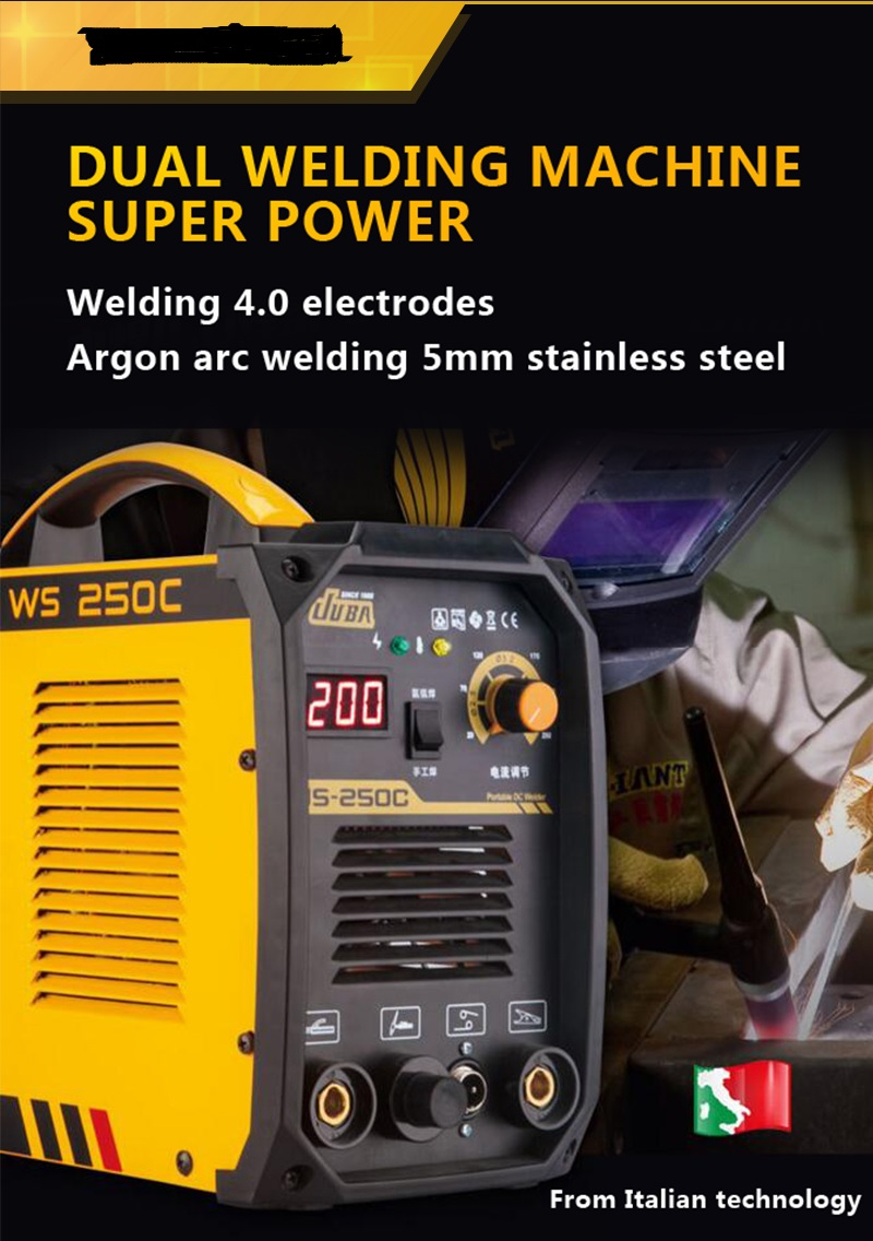 JUBA WS <font><b>250</b></font> inverter Welding Machine <font><b>TIG</b></font> / MMA Welding Argon Arc Welding Machine image