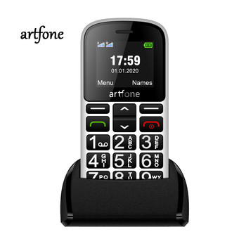 2G Artfone CS188 Big Button Mobile Phone for Elderly,Upgraded GSM Mobile Phone with SOS Button 1400mAh Battery Dual SIM Unlocked