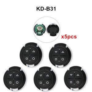 Image 5 - 5 sztuk/partia KEYDIY KD B31 B32 4 przyciski ogólne drzwi garażowe zdalnego dla KD900 URG200 KD X2/KD MINI KD200 MINI...