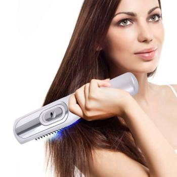 Infrared Laser Hair Growth Comb Hair Care Styling Hair Loss Growth Treatment Infrared Device Massager Brush Anti-Hair Loss laser comb kit power grow laser cure loss therapy laser hair regrow comb massager comb brush drop shipping
