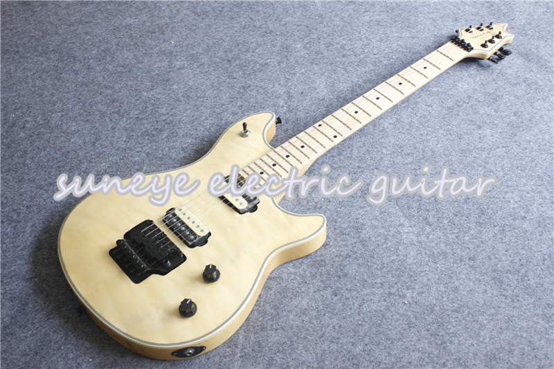 China Custom Shop Wolfg EVH Electric Guitar Black Hardware Guitars Electric Suneye Guitar Kit Left Hardware Custom Available