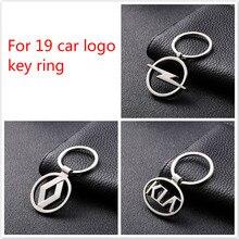 Moda metal anel chave do carro decorações presente pingente acessórios para passat polo golf 3 4 5 6 7 jetta b4 b5 b6 b7 b8 etiqueta do carro