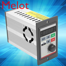 VFD Inverter 0.4KW 220V V/F closed loop Variable Frequency Drive Single Phase Frequency Converter For Motor Speed Control