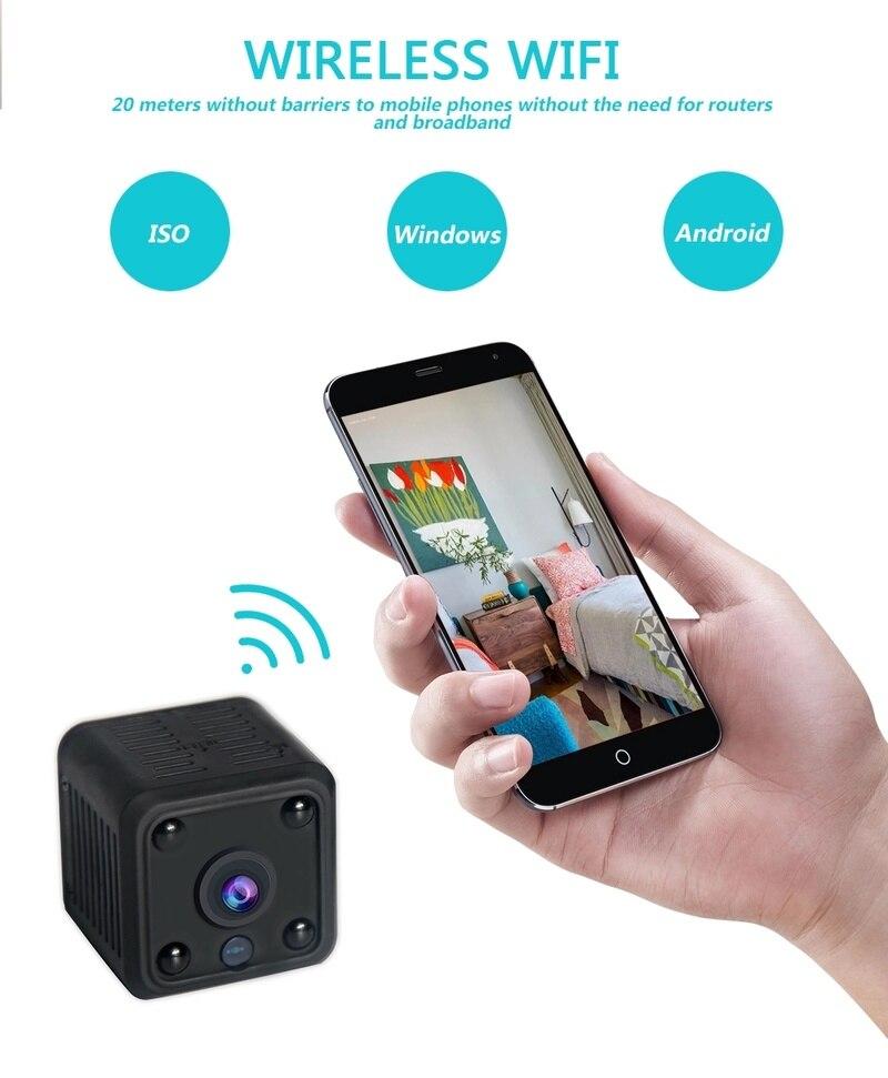 MC61 MINI1080P Night Vision WiFi Network Camera Motion Detection Video  Recorder Mobile APP Remote Reception HD Smart Camera