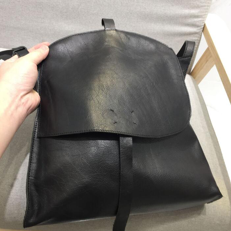 100% couro de alta qualidade sacos ombro