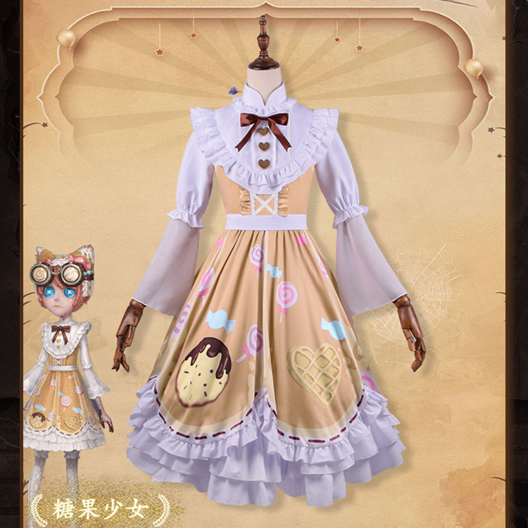 Hot Game Identity V Machinist Tracy Reznik Cosplay Costume New Skin Candy Girl Lolita Dress Daily Suits Halloween Party Costumes