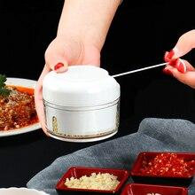лучшая цена Multifunctional Mini Manual Food Shredder Meat Grinder Onion Vegetable Garlic Chopper Cutter Kitchen Accessories High Quality
