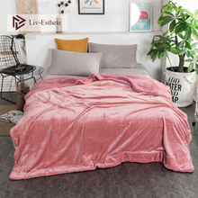 Liv-Esthete Fashion Warm Sherpa Blanket Portable Car Throw Bed Sofa Fleece Funny Plush Bedspreads Wholesale