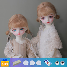 1/6 BJD Doll Shuga Fairy LCC Bitsie & Liss Resin Toys for Kids Girls Surprise Birthday Gift Yosd 26cm Cute Baby Doll Lati Ery