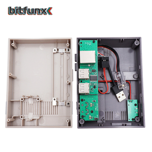 Image 3 - 라즈베리 파이 B +/2B/3B/3B + 용 냉각 팬 전원 버튼 키트가있는 미니 NESPI 케이스 Retroflag 케이스