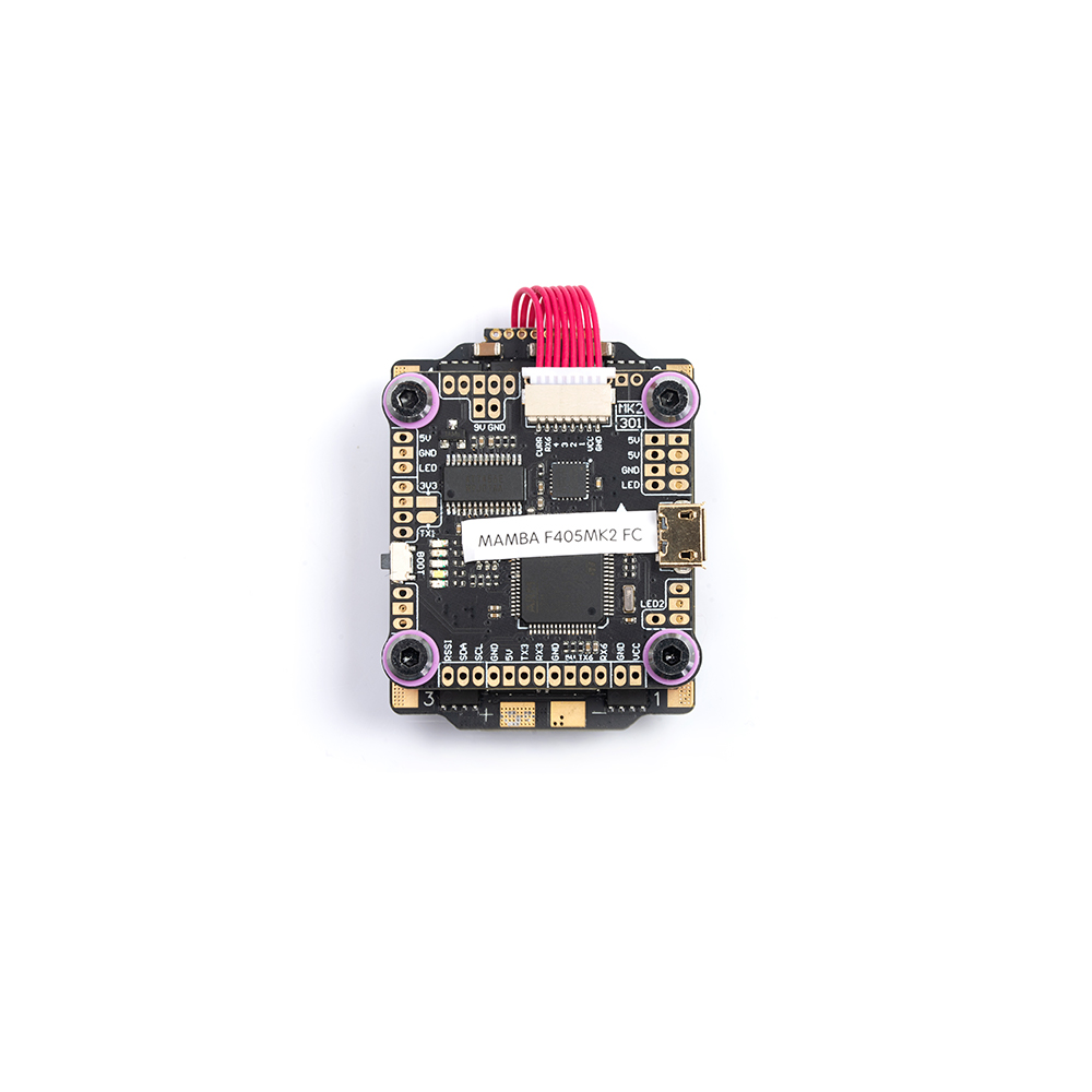 Diatone <font><b>MAMBA</b></font> <font><b>F405</b></font> Betaflight Flight Controller & F40 40A 3-6S DSHOT600 FPV Racing Brushless ESC for RC Drone <font><b>Mini</b></font> Quad image