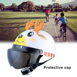 Lato w kask dla dzieci piękny Cartoon dziecko kask bezpieczeństwa motorower osłona ochronna kask jazda na rowerze dostaw
