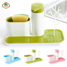 цена на MSJO Soap Dispenser Set Pump Toothbrush Toothpaste Holder Soap Dish Kit Household Items Set Kitchen Set Bathroom Accessories