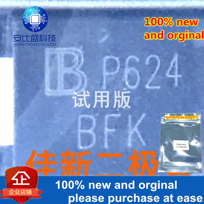 30pcs 100% New And Orginal SMCJ30CA  30V Bidirectional TVS Protection Diode DO214AB Silk-screen BFK  In Stock