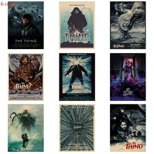 Classic movie poster The Thing retro decorative painting kraft paper bedroom wall decoration
