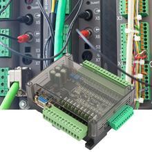PLC وحدة تحكم منطقية قابلة للبرمجة FX3U 24MT PLC الصناعية لوحة تحكم 6 التناظرية المدخلات 32bit MCU 14 المدخلات 10 الترانزستور الإخراج