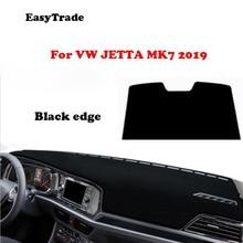 цена на Car dashboard Avoid light pad Non-Slip Sun Cover Instrument platform desk cover Mats Carpets For Volkswagen VW JETTA MK7 2019