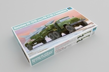 цена на Trumpeter 01033 1/35 Scale Russian Zil-131V Towed PR-11 SA-2 Guideline Collectible Toy Plastic Assembly Building Model Kit
