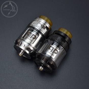 QP Designs Juggerknot RTA – atomiseur pour E-Cigarette 26mm, capacité de 4ml, 316 SS, réservoir de remplissage à flux d'air réglable