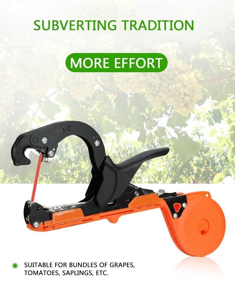 Anlage Binden Tapener Band Maschine Hand Werkzeuge Binden Reben Zweig Maschine Gebunden Zweig Pistole Umreifung Gemüse Trauben Stamm Garten Werkzeug