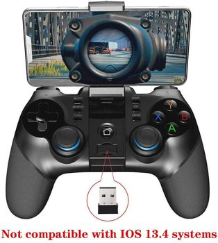 IPEGA PG-9156 Wireless4.0+2.4G Wireless Gamepad Trigger Pubg Controller Mobile Joystick Compatible Phone8/XR/XS iOS Compatible