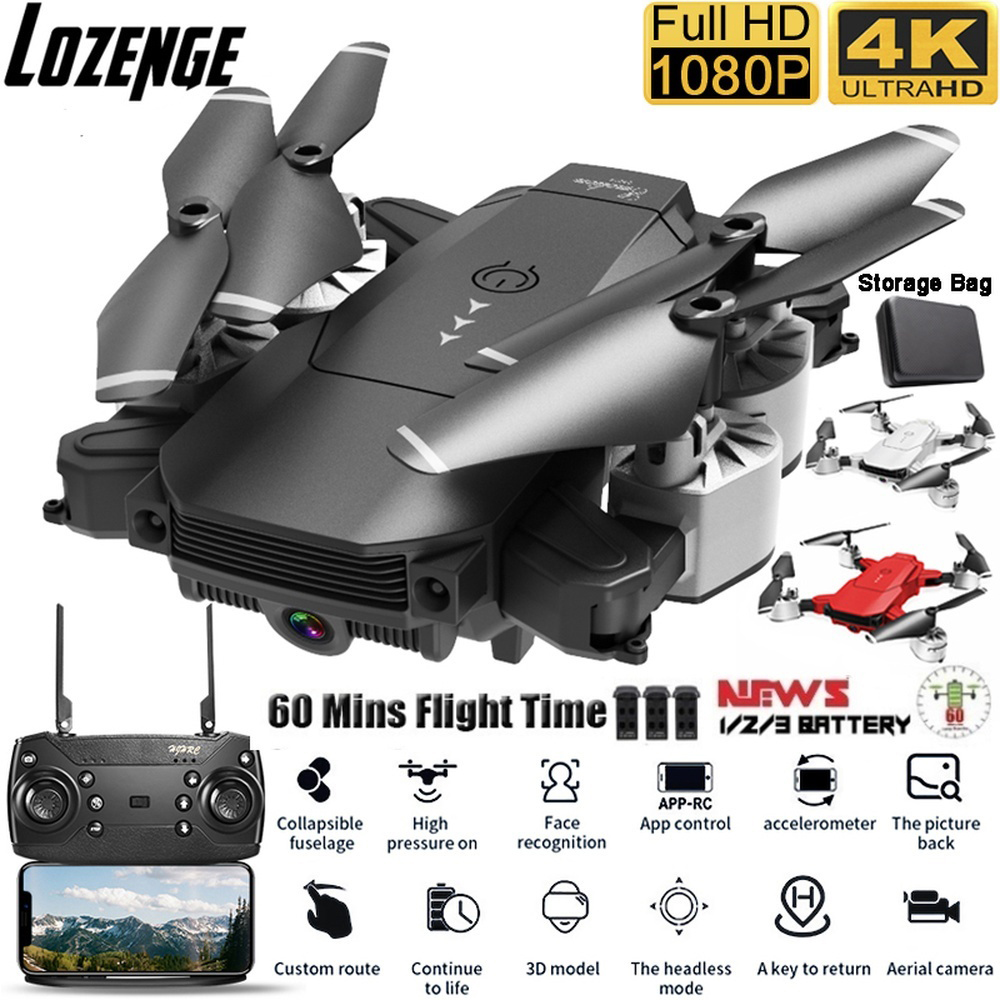 Lozenge HJ29 Camera Drone RC Drone Remote Control Helicopter Quadcopter Drone with Camera Drone Toy 4K Drone