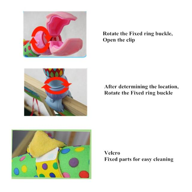Lovely mobile to hang in a crib, baby car rattles educational toys