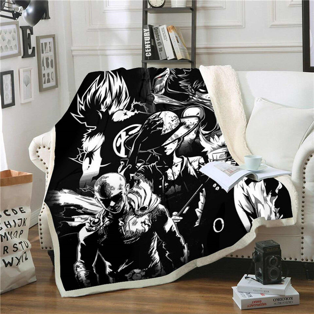 3D ONE PIECE THEMED BLANKET (35 VARIAN)