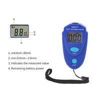 EM2271 Digital Mini Thickness Gauge Car Paint Tester Thickness Coating Meter|Width Measuring Instruments|   -