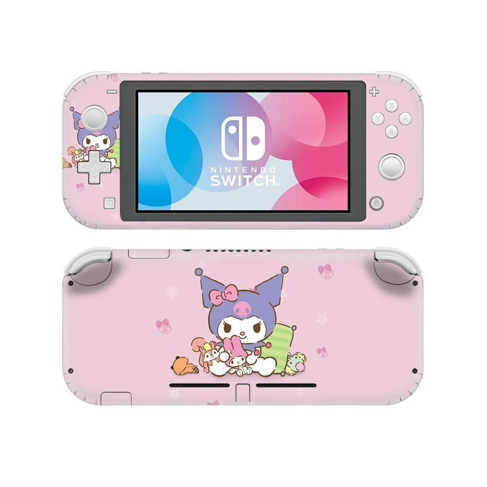 Kuromi NintendoSwitch Skin Sticker Decal Cover For Nintendo Switch Lite Protector Nintend Switch Lite Skin Sticker