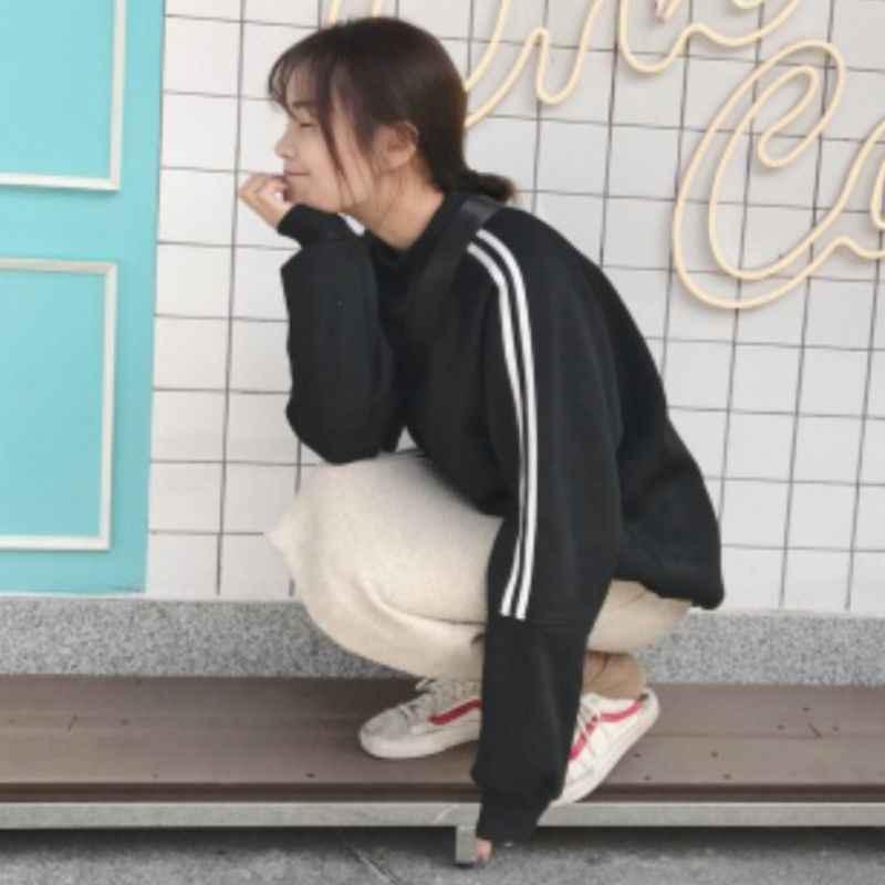 남자 일본식 따뜻한 솔리드 컬러 라운드 칼라 스웨터 긴 소매 탄성 슬림 풀오버 탑스