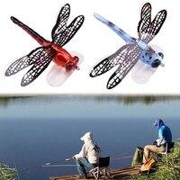 2 Pcs Angeln Schwimm Köder Libelle Künstliche Simulierte Fly Angeln Locken Bunte Köder Bionic Wasser Oberfläche Fly Insekten Acces-in Angelköder aus Sport und Unterhaltung bei