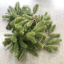 Искусственные растения Рождественская гирлянда венок украшение